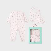 Paul Smith Baby Girls' Light Pink 'Safari Animals' Playwear Set