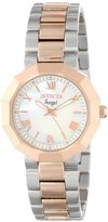 Invicta Women's 0545 Angel Collection 18k Rose Gold-Plated and Stainless Steel Watch