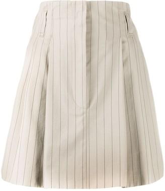 Brunello Cucinelli Striped Tailored Culottes