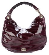 Jimmy Choo Patent Leather Solar Hobo
