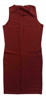 Tomas Maier Burgundy Cashmere Dresses
