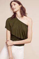 Three Dots Gemma One-Shoulder Top