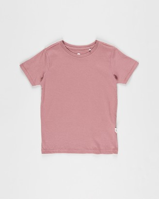 Cotton On Boy's Red Basic T-Shirts - Core Short Sleeve Tee - Kids - Size 5 YRS at The Iconic