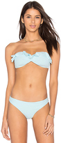 Eberjey So Solid Rafaella Bikini Top in Blue. - size M (also in )