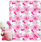 Hello Kitty Sanrio 3D Hugger Pillow & Throw Set Bedding