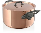 Mauviel M'150c2 Copper Stew Pan and Lid