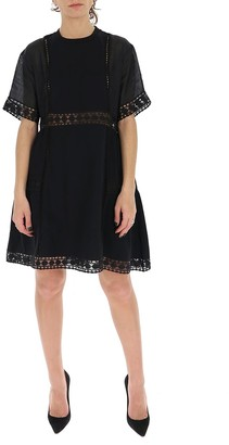 See by Chloe Embroidered Mini Dress
