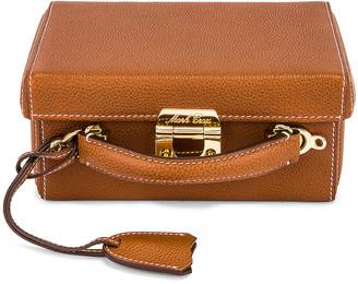 Mark Cross Small Grace Box Bag in Acorn   FWRD