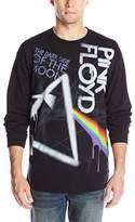 Liquid Blue Men's Pink Floyd Dark Side Graffiti Long Sleeve T-Shirt