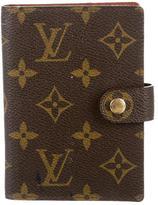 Louis Vuitton Monogram Mini Agenda Cover
