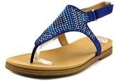 Naturalizer Kelsie W Open-toe Canvas Slingback Sandal.