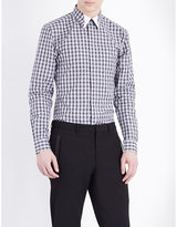 Givenchy Plaid Cotton Shirt