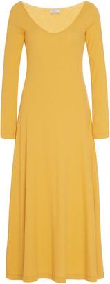Rosetta Getty Cotton-Jersey Midi Dress