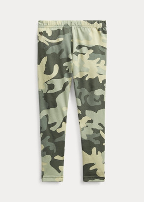 Ralph Lauren Camo Stretch Jersey Legging