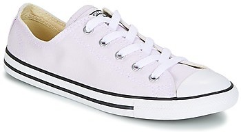 Chuck Taylor All Star Dainty Ox Canvas Color women's Shoes (Trainers) in Purple