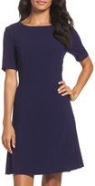 Tahari Women's Crepe Fit & Flare Dress