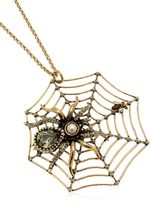 Alcozer & J Spider Necklace
