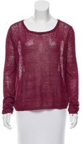 Rag & Bone Cropped Scoop Neck Sweater