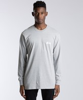 Stussy Wave Warp Long Sleeve T-Shirt