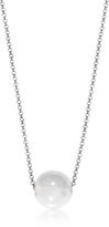 Antica Murrina Veneziana Perleadi White Murano Glass Bead Chain Necklace
