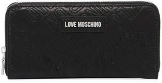 Love Moschino Portafogli Faux-Leather Logo Wallet