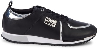 Roberto Cavalli Sport Leather Sneakers
