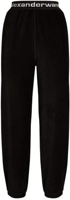Alexander Wang Corduroy Logo Band Trousers