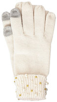 Betsey Johnson Crazy For Pearls Cuff Tech Glove