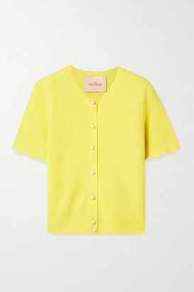 Marc Jacobs Cashmere Cardigan - Yellow