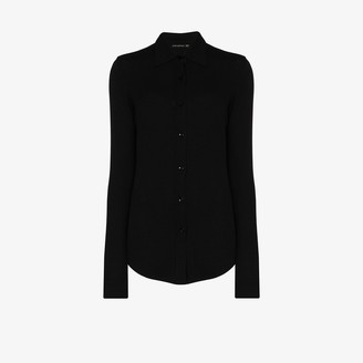 Alled-Martinez Knitted Slim Fit Shirt