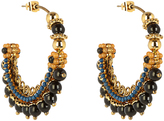 Etro Bead-embellished hoop earrings
