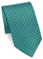 Salvatore Ferragamo Elephant Silk Necktie