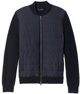 Banana Republic Combination Full-Zip Jacket