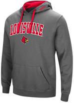 Colosseum Men's Louisville Cardinals Arch Logo Hoodie