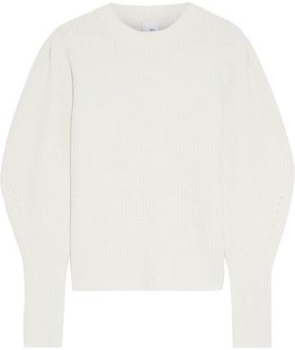 Iris & Ink Ariel Ribbed Wool Sweater
