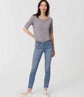 LOFT Modern Skinny Ankle Jeans in Light Enzyme Wash
