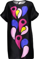 Peter Pilotto Silk-satin mini dress
