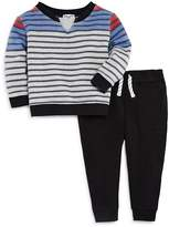 Splendid Boys' Striped Sweatshirt & Jogger Pants Set - Baby