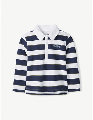 The Little White Company Rugby cotton shirt 1-6 years