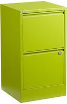 Bisley 2-Drawer File Cabinet Green