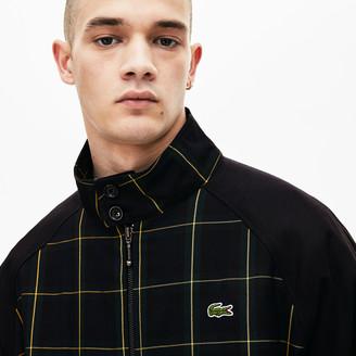 Lacoste Men's LIVE Check Harrington Jacket