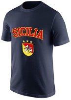 SofterWind Men's Short Sleeve Shirts Sicilia Funny Shirts Funny T Shirt