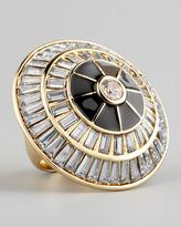 Crystal Circle Ring