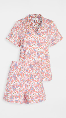 Bedhead Pajamas Meadows Short Sleeve Classic Shorty PJ Set