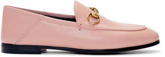 Gucci Pink Crushback Brixton Loafers
