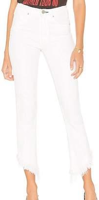 McGuire Denim Asymmetrical Cropped Jeans