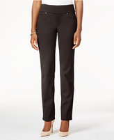Charter Club Cambridge Pull-On Slim-Leg Jeans, Only at Macy's