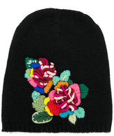 Ermanno Scervino floral embroidered beanie