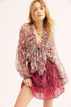 Free People Beat Of My Heart Button Down