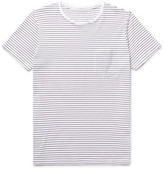 Club Monaco Williams Striped Cotton-Jersey T-Shirt